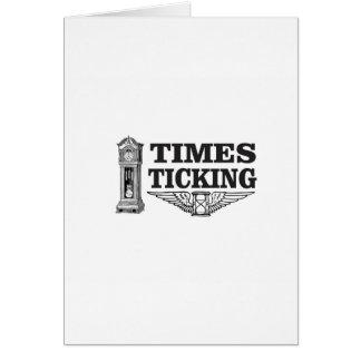 Cartão ttt de tiquetaque das épocas