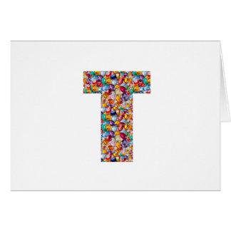 Cartão TTT peroliza presentes grandes revestidos gemas do