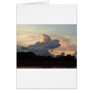 Cartão Tubarão da nuvem