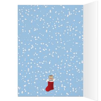 Cartão Tudo que eu quero para o Natal é… alguns tamales