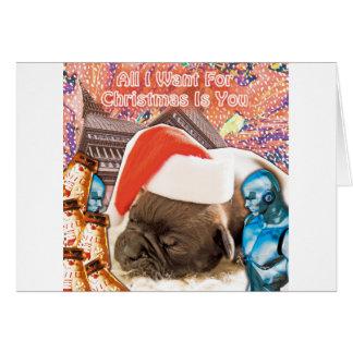 Cartão Tudo que eu quero para o Natal é você