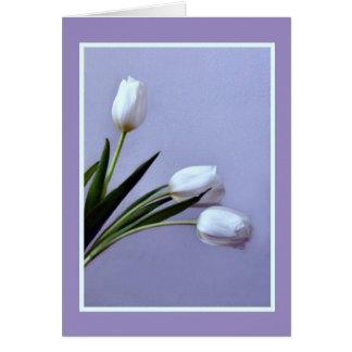 Cartão Tulipas do primavera