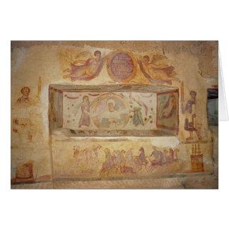Cartão Túmulo de Aelia Arisuth