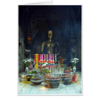Cartão Túnel Buddha