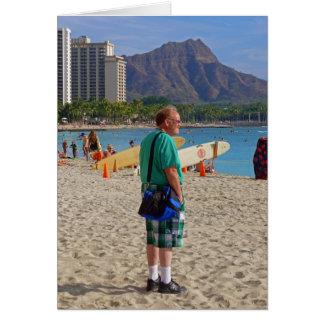 Cartão Turista de Waikiki