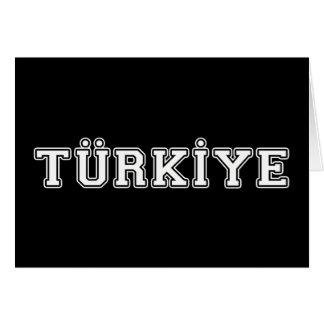 Cartão Türkiye