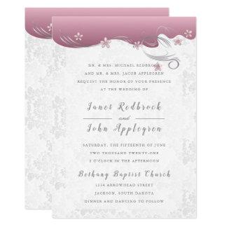 Cartão Turmalina cor-de-rosa elegante do design | do