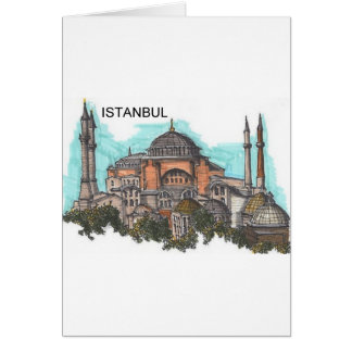 Cartão Turquia Istambul Hagia Sophia (por St.K)