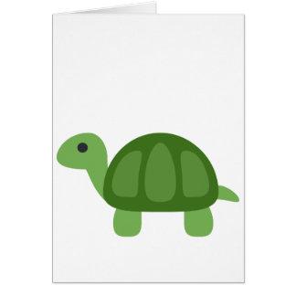 Cartão Turtle Emoji