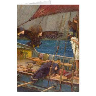 Cartão Ulysses e as sirenes
