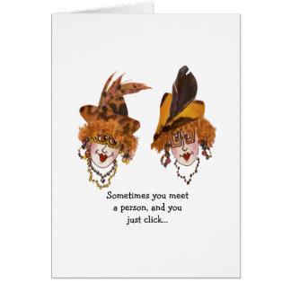 Cartão Um amigo especial