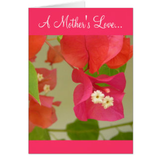 Cartão Um amor de mãe…