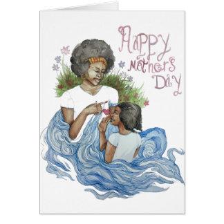 Cartão Um amor de mães