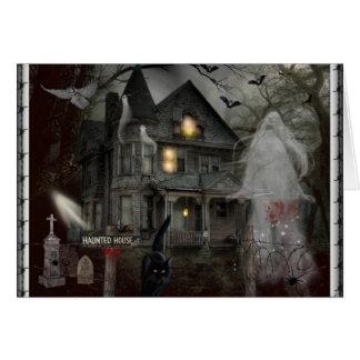 Cartão Um conto assombrado