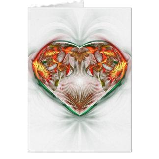 Cartão Um coração para ti