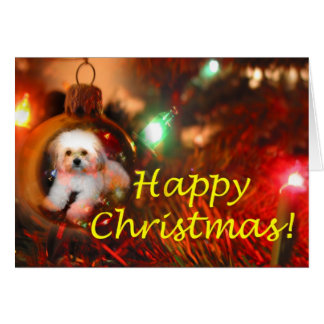 Cartão Um desejo do Natal