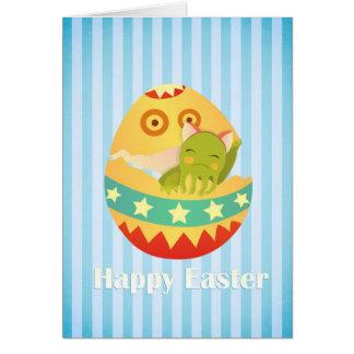 Cartão Um desejo doce da páscoa