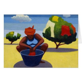 Cartão Um dia de secagem 2007