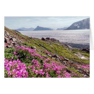 Cartão Um dia ensolarado no Columbia Britânica, Canadá