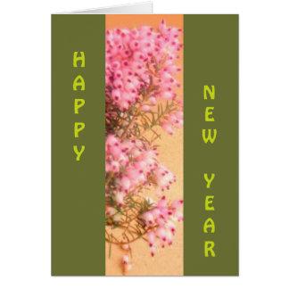 Cartão Um feliz ano novo