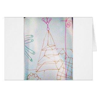 Cartão Um jogo do grânulo de vidro dos Geometers