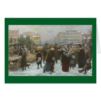 Cartão Um Natal do Victorian