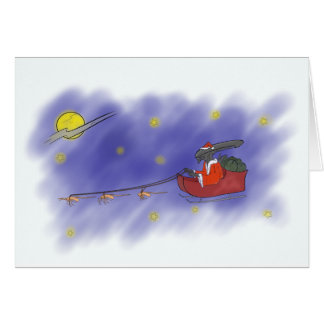 Cartão Um Natal muito estrangeiro