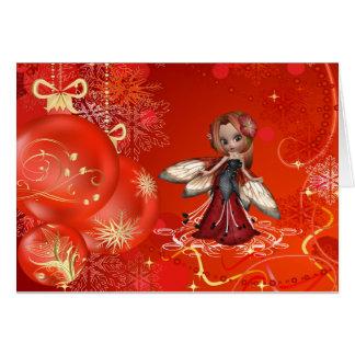 Cartão Um Natal muito feericamente