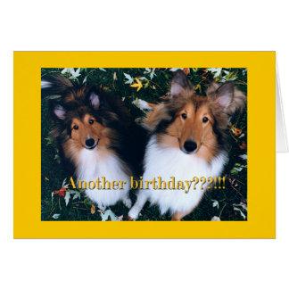 Cartão Um outro aniversário?