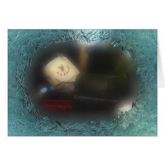 Cartão Um outro saco de sono azul de S'Mores