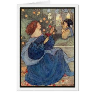 Cartão Um Peal de Bels por Florença Harrison