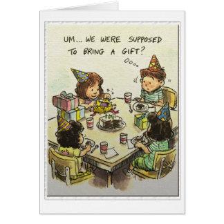 Cartão Um… Presentes?