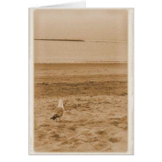 Cartão Um rasgo no oceano