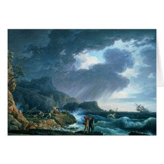 Cartão Um Seastorm, 1752