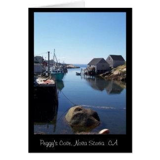 Cartão Uma angra minúscula em Nova Escócia, CA