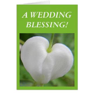 Cartão Uma bênção do casamento!