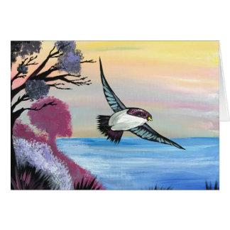 Cartão Uma opinião dos pássaros
