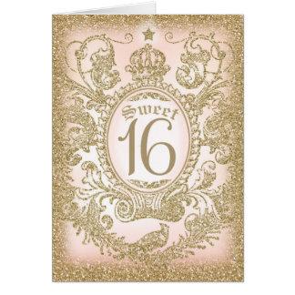 Cartão Uma vez doce 16