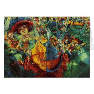Cartão Umberto Boccioni - riso