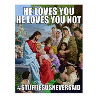 Cartão Unchangeable do amor (SJNS)