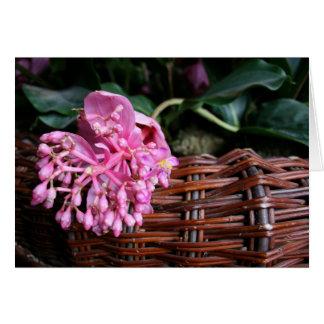 Cartão Única flor