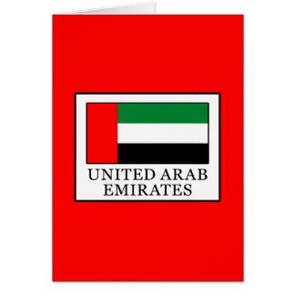 Cartão United Arab Emirates