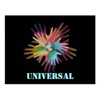 Cartão universal cartão postal