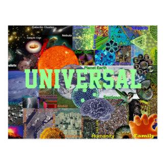 Cartão universal cartao postal