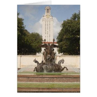 Cartão Universidade da torre de pulso de disparo de Texad