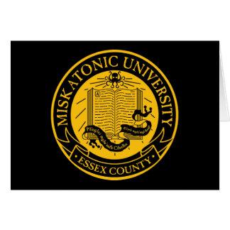 Cartão Universidade de Miskatonic