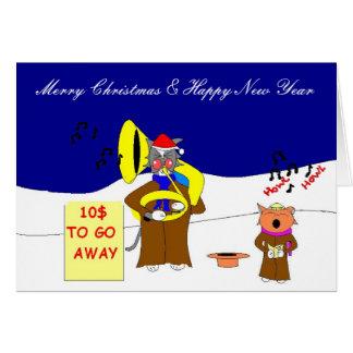 Cartão Urro Moggy