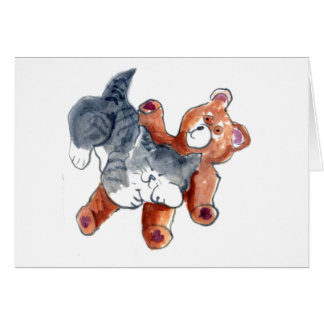 Cartão Ursinho confortável