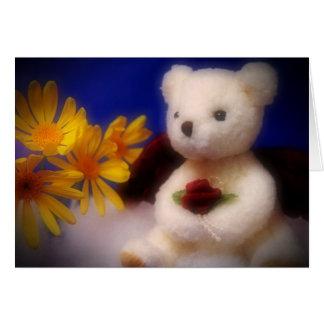 Cartão Urso angélico