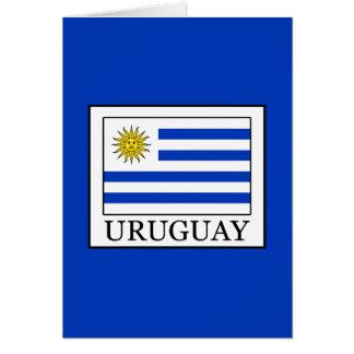 Cartão Uruguai